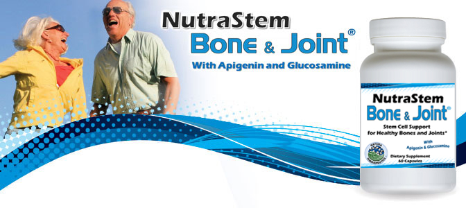 NutraStem Bone and Joint Nutritional Supplement with Stem Cell Support